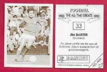 Scotland Jim Baxter Glasgow Rangers 33